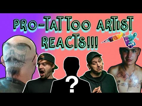 Reviewing Terrible Tats with a Professional Tattoo Artist!