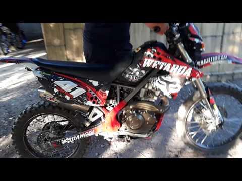 Kawasaki D'Tracker 180 cc karbu standar