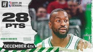 Kemba Walker 28 Pts Full Highlights   Heat vs Celtics   December 4, 2019