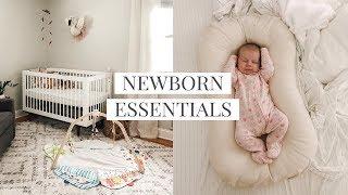 Newborn Essentials • Simple Baby Registry Must Haves