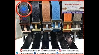 Leather Belts Manufacturing Process