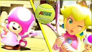 Mario Tennis Aces Doubles Part 2 COUPLES BATTLE! Kwing vs Kwife