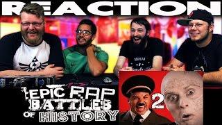 Hitler vs Vader 2. Epic Rap Battles of History REACTION!!