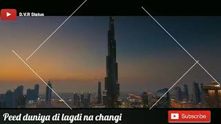 Hanju_Akay || New Punjabi WhatsApp status video || D.V.R Status
