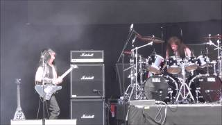 Exciter - Violence And Force Live @ Sweden Rock Festival 2015