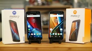Moto G4 Plus vs Moto G4: Two of a kind...