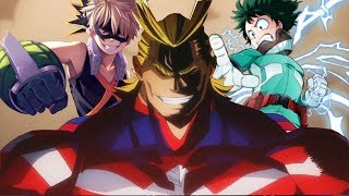 Boku no hero academia-Midoriya & Bakugou