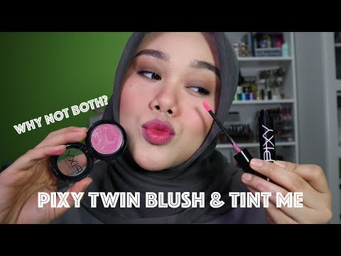 REVIEW PIXY TWIN BLUSH & TINT ME | BISA DIPAKE BUAT PIPI DAN BIBIR?