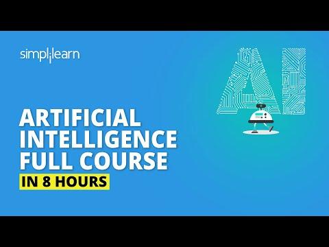 AI Full Course | Artificial Intelligence Tutorial |Simplilearn - YouTube