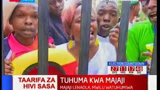 Maandamano ya wafuasi wa Jubilee katika vikao vya mahakama ya juu
