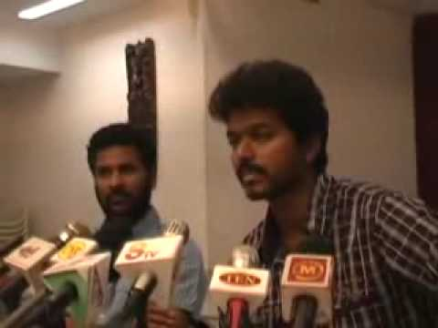 Vijay angry in Villu Flop