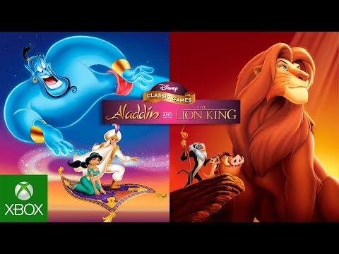 Disney Classic Games: Aladdin and The Lion King - Announce Trailer thumbnail