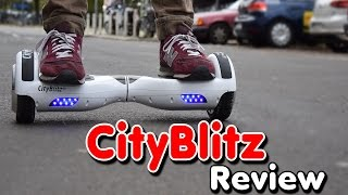 Cityblitz Hoverboard,Unboxing, Balance Board,kein IO Hawk, Review,Test,Anleitung,Tutorial (Deu,Ger)