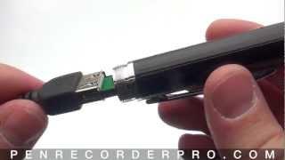 HD90 Spy Pen Camera Troubleshooting tips