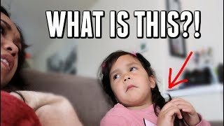 There's something off about Keira's Hair-  ItsJudysLife Vlogs