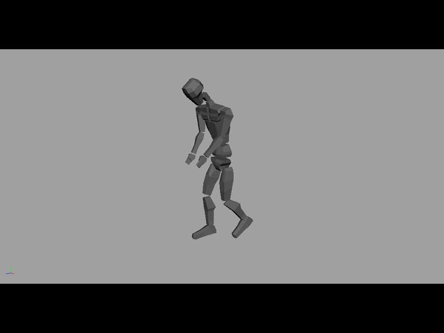 IK and FK - Walk Cycle Animation (10/25/2017)