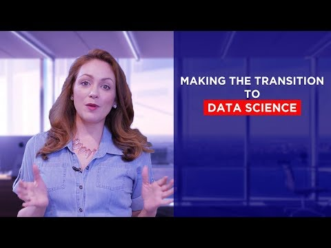 Data Science Course 2018 - Making The Transition To Data Science | Data Science Career Scope