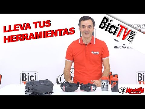 Cómo llevar tus herramientas en la bicicleta