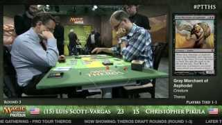 Pro Tour Theros - Theros Draft Round 3 - (15) Luis Scott-Vargas vs. Christopher Pikula