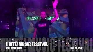 Elof de Neve @ Unite! Music Festival 2019