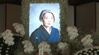 樹木希林さん葬儀、本木雅弘が会見1