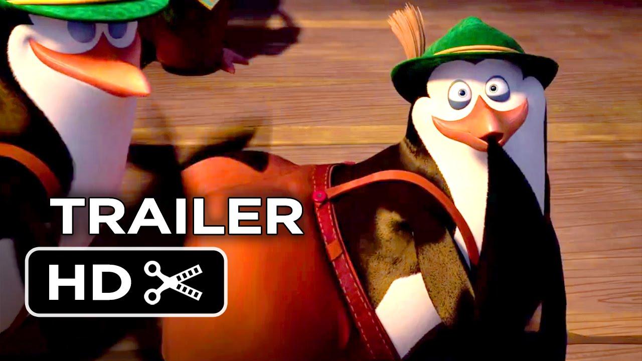 Penguins of Madagascar Official Trailer #3 (2014) Benedict Cumberbatch Movie HD