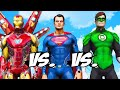 Iron Man Vs Superman Vs Green Lantern Epic Superheroes