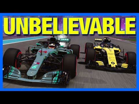 F1 2018 Career Mode : UNBELIEVABLE FINISH TO SEASON!! (Part 21)