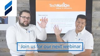 Summit Imaging Invites you to our next Webinar Wednesday with Technation