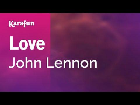 Love - John Lennon | Karaoke Version | KaraFun