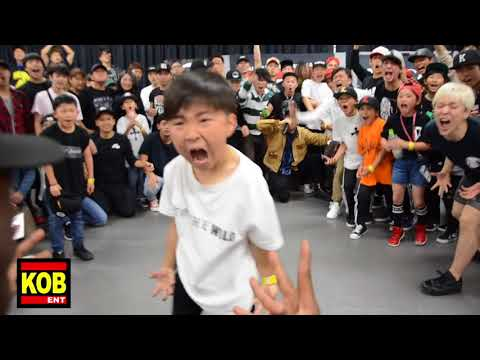 Baby Konkrete vs Baby StreetBeast aka Baby Krow|BEST 8 ①|YOUNG GUNS BATTLE 6|2018.05.20
