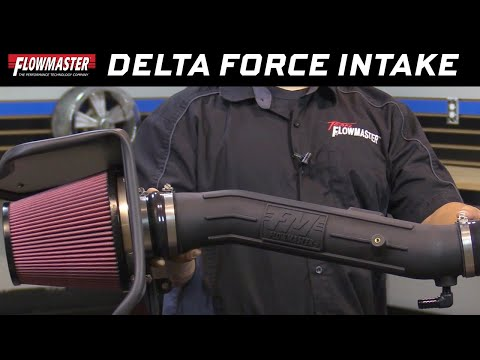 2012-15 Toyota Tacoma 4.0L, Flowmaster Delta Force Cold Air Intake 615141