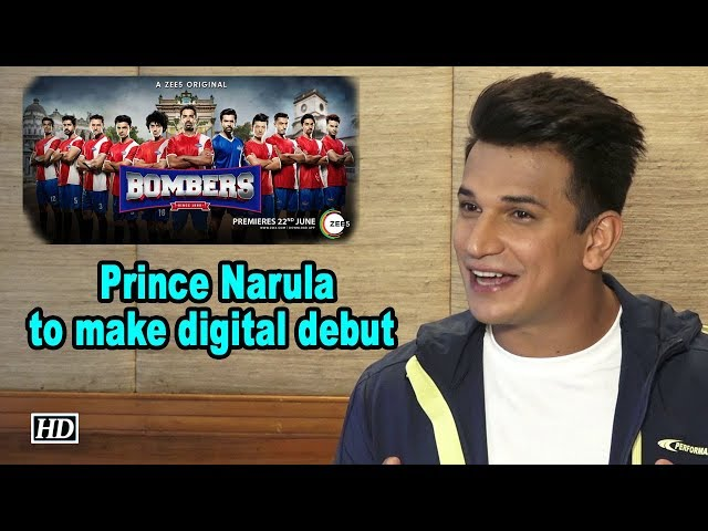 Prince Narula to make digital debut with 'Bombers