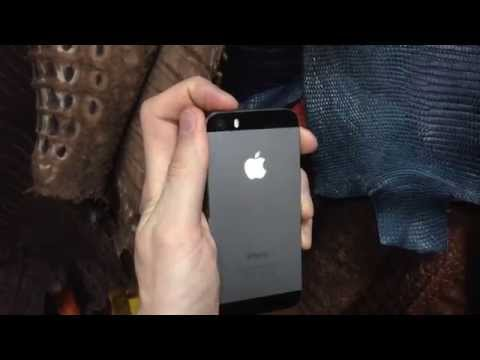 Led light Logo iPhone 5S apple