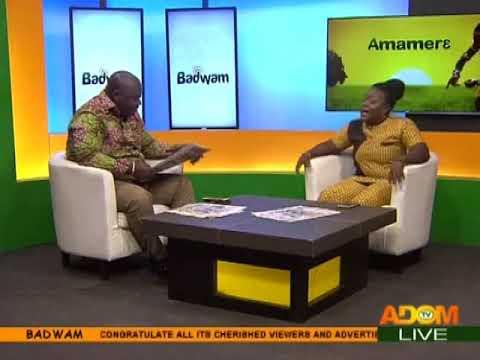 Badwam Newspaper Review on Adom TV (21-8-17)