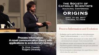 """Process Information: A Novel Communication Theory with Applications to Evolutionary Biology."" Dr. Erick Chastain (Rutgers University)"