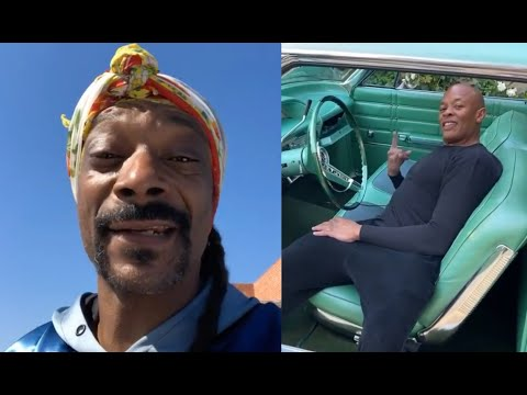 Snoop Dogg Showing Dr. Dre His Old School Car Collection