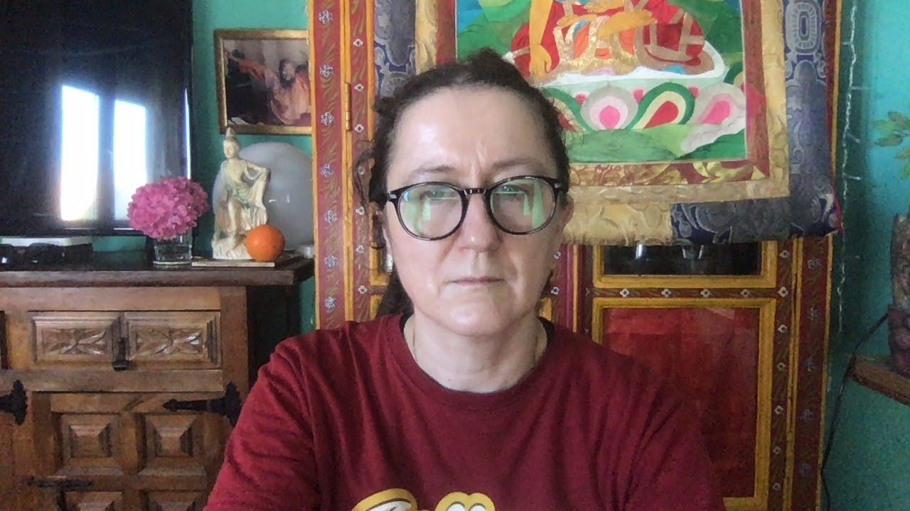 Lama Gangchen Tantric Self-Healing 2- Commentary by Lama Caroline - part 63 (EN) The Snowlion