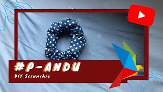 #P-ANDU DIY Scrunchie!