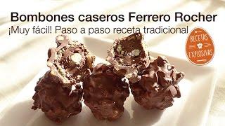 Bombones Ferrero Rocher Caseros - Super facil - Recetas Explosivas