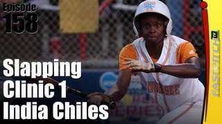 Fastpitch Softball Slapping Part 1 - India Chiles