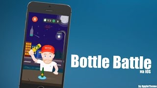 Кликер на скорость и реакцию! Разбей бутылки в Bottle Battle