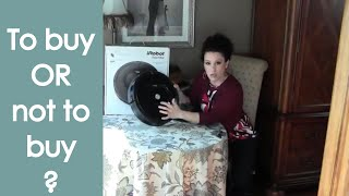 iRobot Roomba 805 Vacuum (Review) - Renee Romeo