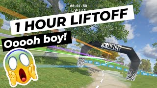 1 Hour Liftoff | First time FPV ????