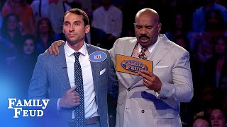 BOOM! Eric and Alex ACE Fast Money! | Family Feud