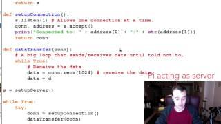 Raspberry Pi Tutorial 27 - Socket Communication 1