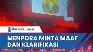 Menpora & LADI Minta Maaf soal Bendera Merah Putih Tak Berkibar saat Indonesia Juara Thomas Cup