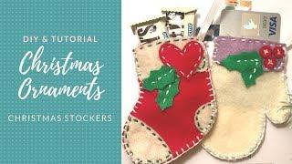 DIY Felt Christmas Ornaments | FREE DOWNLOAD