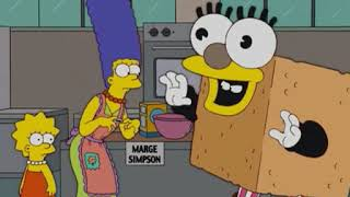 Marge competes in the Oven Fresh bake off