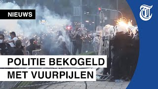Opnieuw heftige rellen in Servië